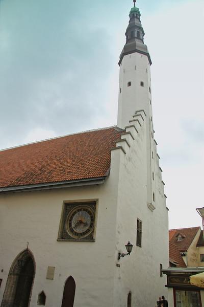 Holy Spirit Church, the only sacred building from 14th-century Tallinn preserved in its original form. -Tallinn, Estonia