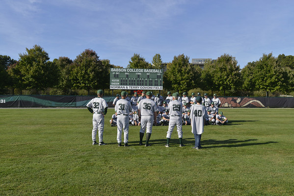 BABSON BASEBALL TEAM PHOTO AND HEAD SHOTS  9.30.2013