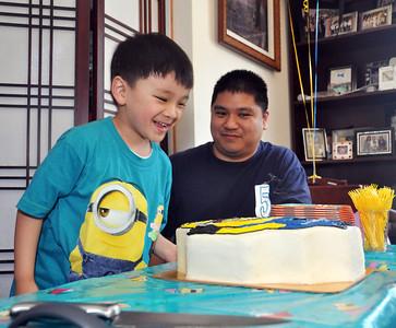 Brennyn's 5th Birthday Party 3.23.14