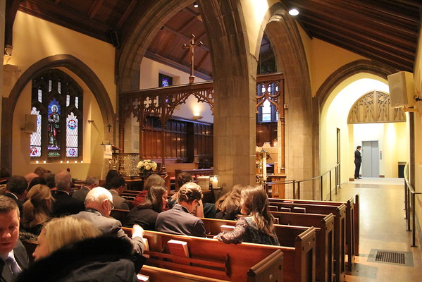 St. James Church, Reopening, Wedding