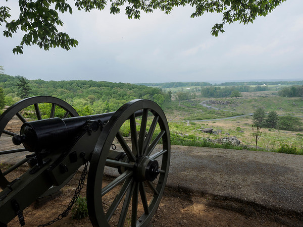 Gettysburg National Battlefield- May, 2014