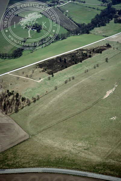 Farmland between Torups Gård and Mölleån - with prehistoric remains (2 April, 1989). | LH.0421