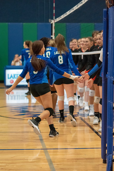 JV Volleyball vs Colleyville Covenant 9.11.18