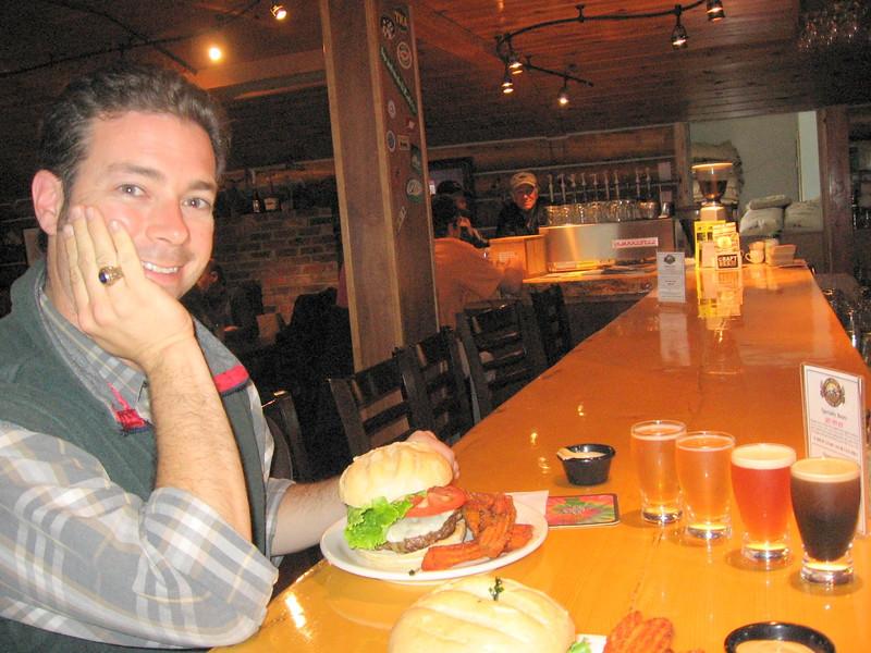 Twister Creek burgers & beers in Talkeetna