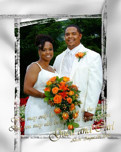 G and C Wedding Album