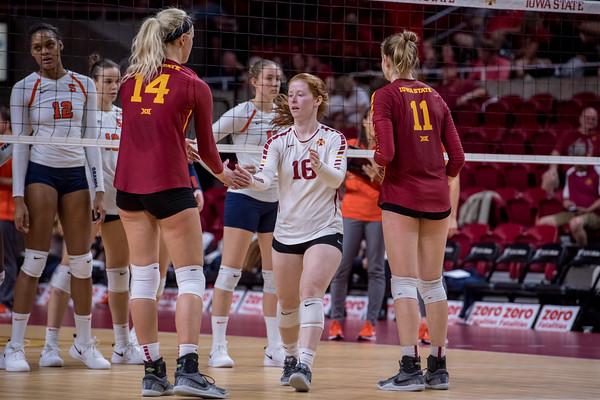 ISU Volleyball vs Syracuse 09/16/18