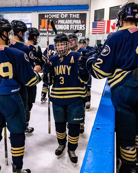 NAVY Hockey  vs Drexel - ECHA-Playoffs (02/23/2019)