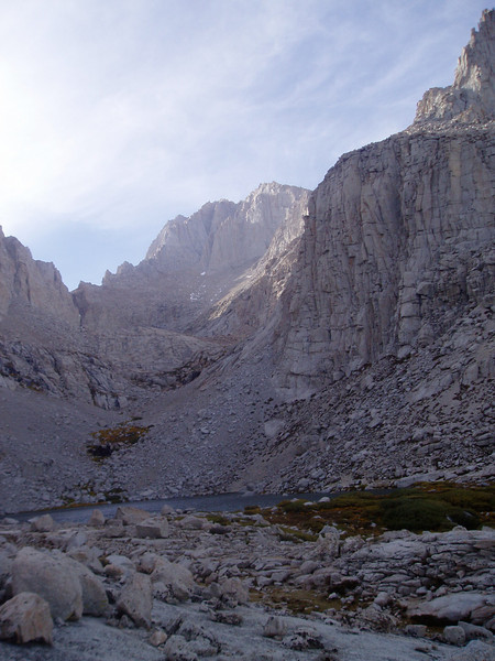 Upper Boy Scout Lake, Mt. Russell above