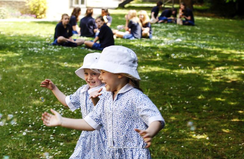 Chasing Bubbles, St Mary's School Cambridge