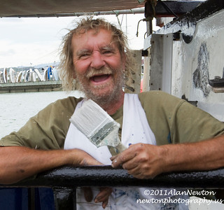 2012-2-23 Dave Loye Captain of the Bluefin tuna boat the Thelma G out of Napier New Zealand