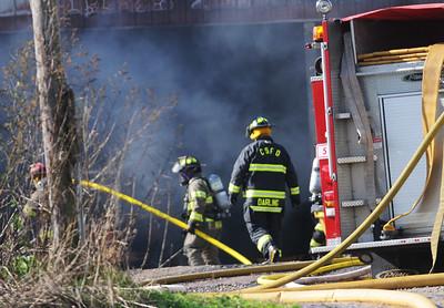 County Road 7 Barn Fire