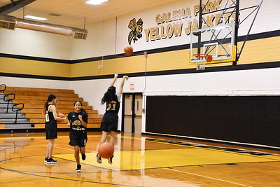 2019 Girls Basketball Fall Practice