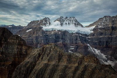 Mount Quadra and Panorama Ridge, Banff National Park, Alberta, Canada.