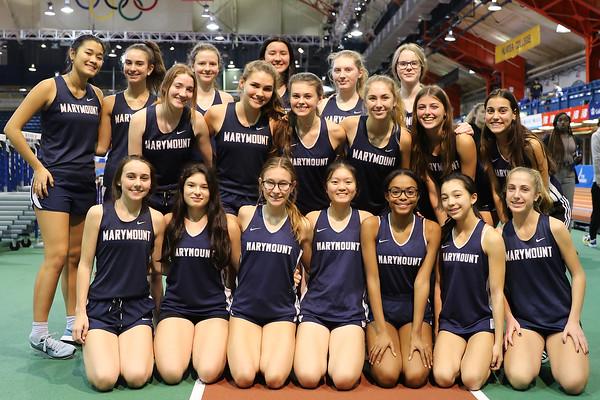 Varsity Indoor Track 2019-2020