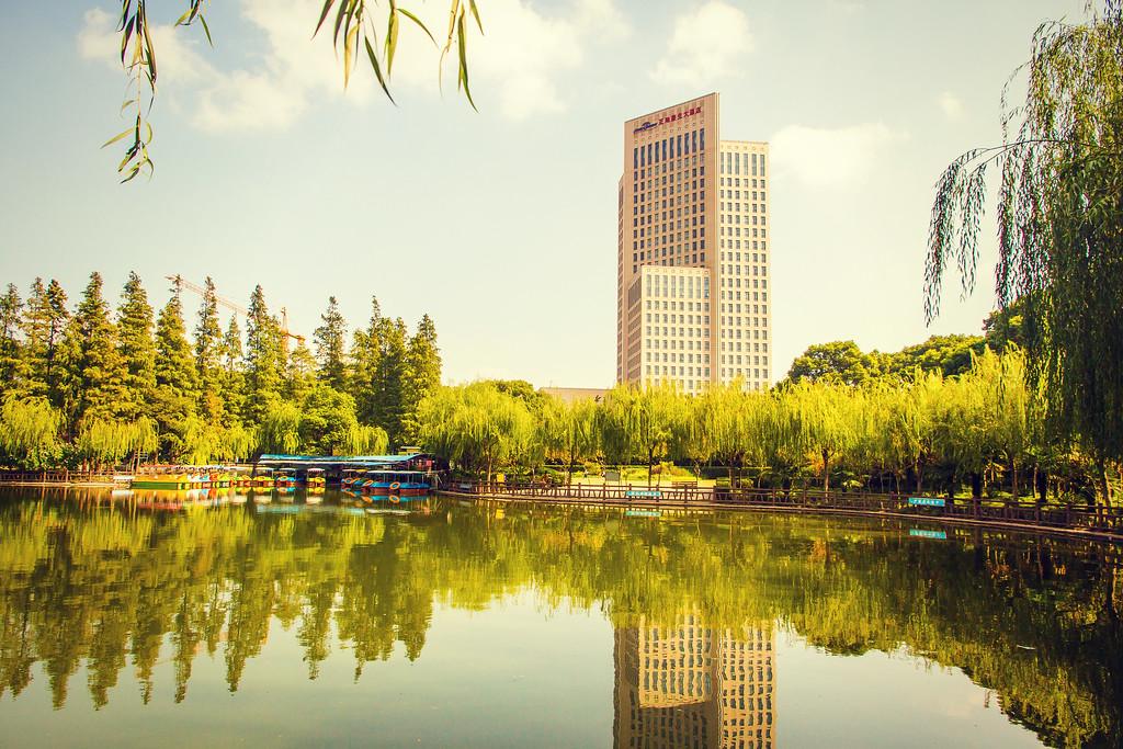 上海高桥公园,忙里偷闲逛一圈