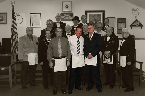 Raising a Master Mason in our lodge