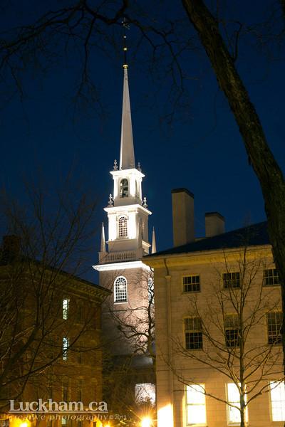 The Memorial Church - Harvard Yard - Harvard University