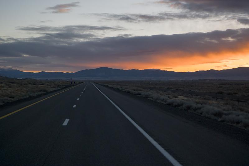 Nevada Sunrise I-80