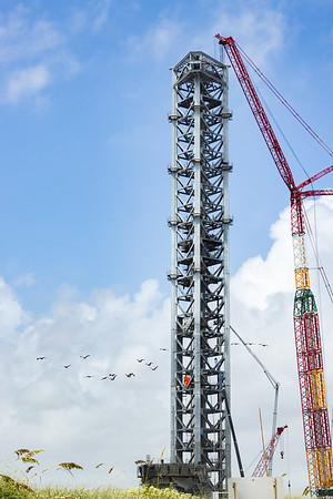 Orbital Launch Tower