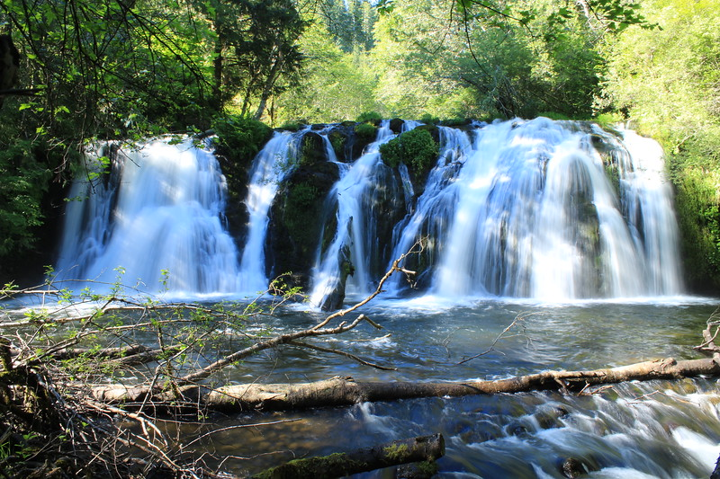 Beaver Falls just east of Forks, Washington