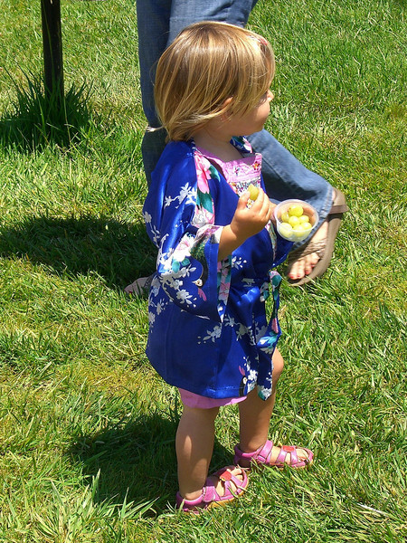 kimono – a gift from Aliza and family