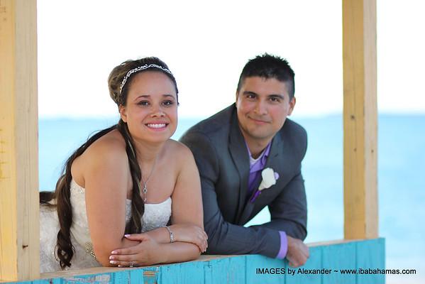 Andrew & Elizabeth | Destination Wedding | Tropic of Cancer Beach | Exuma, Bahamas