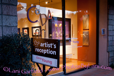 CODA Gallery Show for Chris Young 2/26/11 for Palm Springs Life Magazine