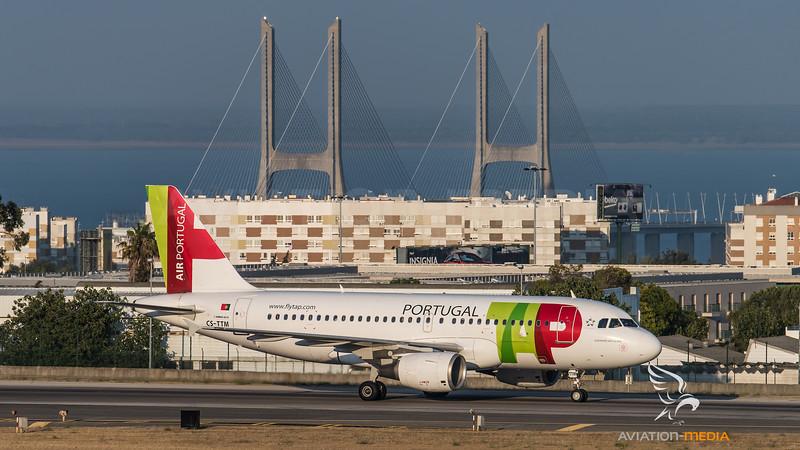 TAP / Airbus A319-111 / CS-TTM