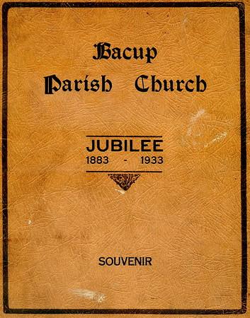 Bacup Parish Church - Jubilee, 1833-1933
