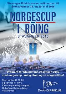 2016 - Stokkavannsregattaen med norges cup