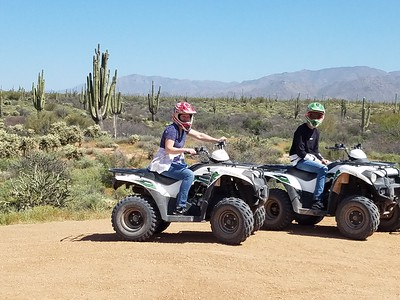 3-31-19 am ATV tour Dustin