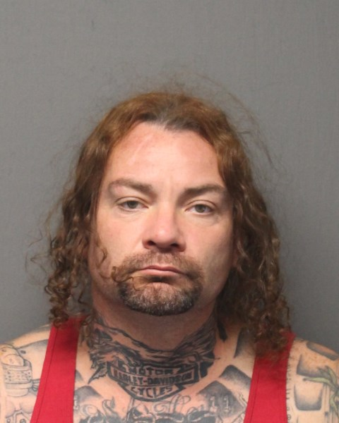 . John Baker (38) of Colorado arrested on numerous firearms charges.  Central Falls Police Department