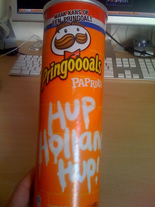 Paprika flavored Pringles from Holland