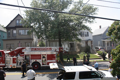 East Rutherford 2nd alarm Basement Fire 300 Hobboken Rd. 6-19-10