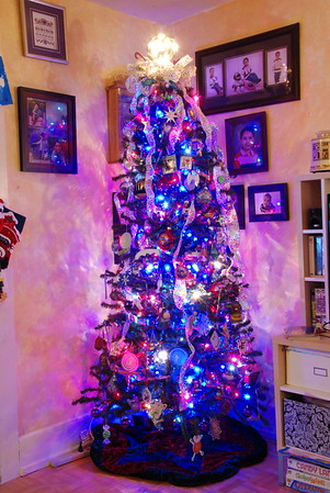 12-09 Christmas tree - Chanukkah