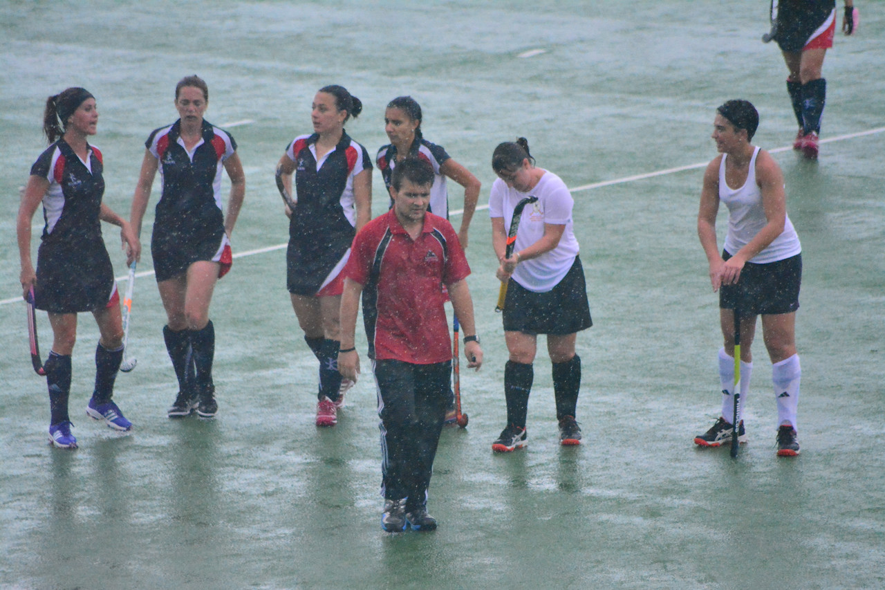 Women's president cup postponed halfway through match