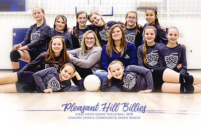 Sixth Grade Volleyball