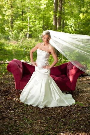 April's Bridal Session