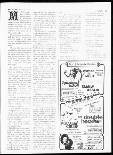 SoCal, Vol. 67, No. 59, December 16, 1974