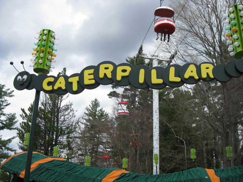 Caterpillar ride.