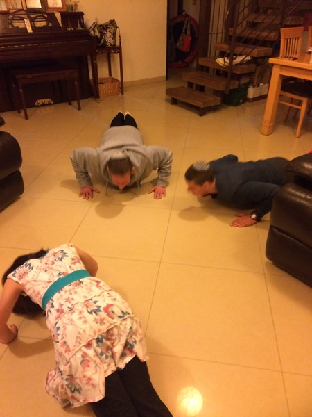 plank contest!