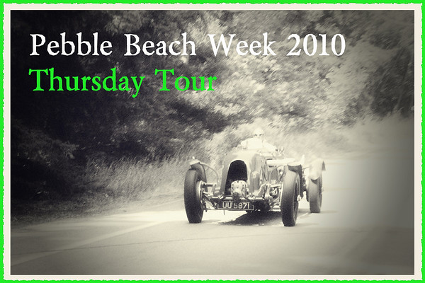 Pebble Beach Week 2010 Thursday Tour