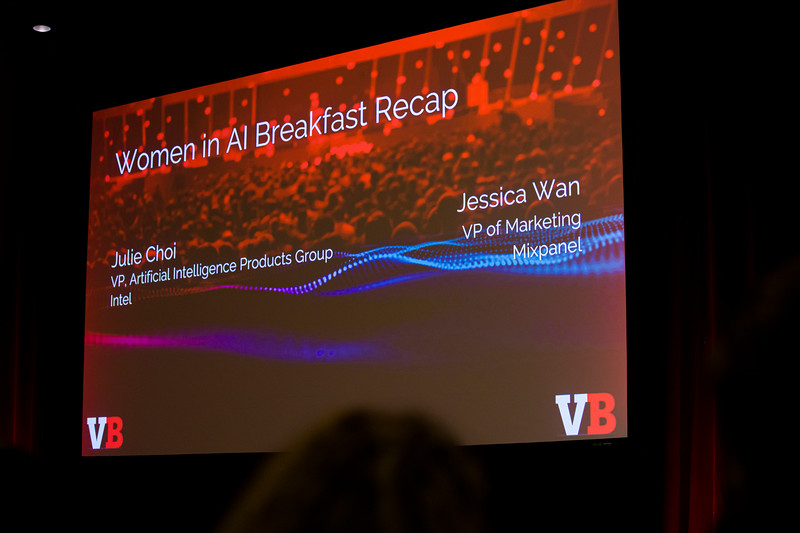 Julie Choi, VP, Artificial Intelligence Products Group, Intel,  ​Jessica Wang, VP Marketing, Mixpanel  Women in AI Breakfast Recap