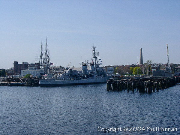 USS Cassin Young (DD-793) - Charlestown, MA