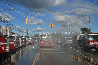 20130928 - Deer Park - Tower Ladder 1-4-10 Wetdown