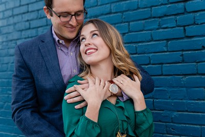 Ashley & Sean | A Very Downtown Raleigh Engagement