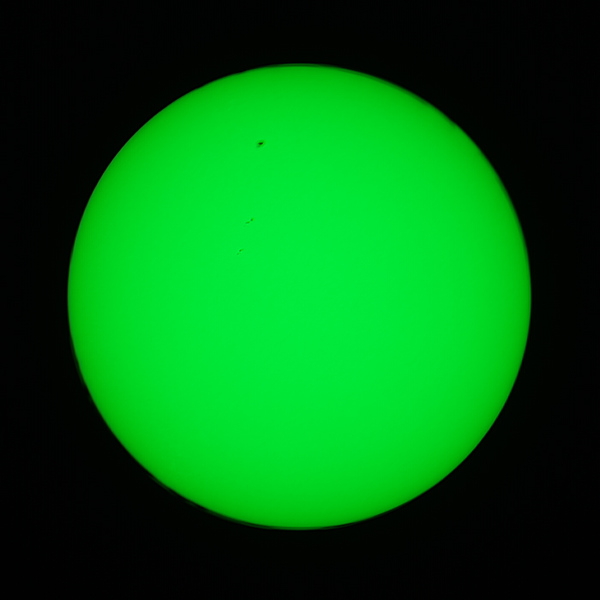 Sunspots - 30/12/2020 (Processed stack)