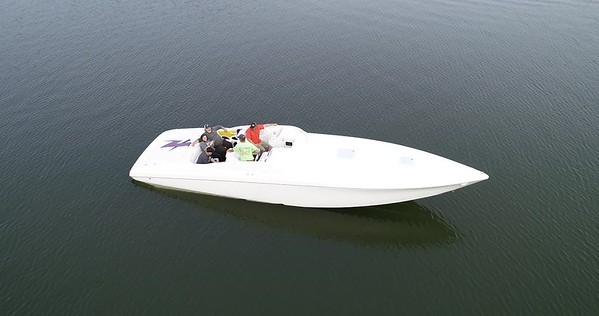 Tom Burgess PowerQuest Boat Wrap