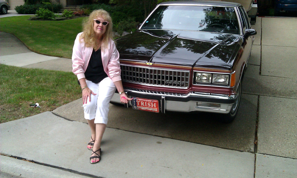 """. Name: (Rhonda Treadwell and mother Pat Furman) Cutline: 1986 Chevrolet Caprice classic. My mother & I are the original owners...only 77,500 miles on it. We have been crusin\' the area for two years now since the car is now considered a \""""classic\"""" for its age. We\'re one of the only mother-daughter teams we see out there. Looking forward to another awesome time out there on Woodward.  Notes: Rhonda Treadwell & Pat Furman (the mom)"""