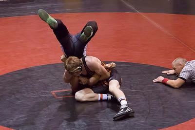 012415 Erie Wrestling vs Strasburg Duel Tounament